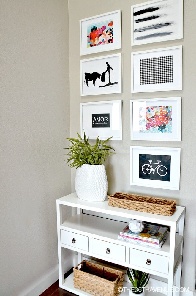 Entryway-Gallery-Wall-at-the36thavenue.com-